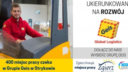 Plakat promujący giełdę pracy