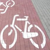 Zdjęcie ścieżki rowerowej