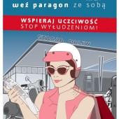 "Plakat akcji ""Weź paragon ze sobą"""
