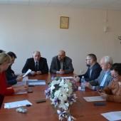 Uczestnicy spotkania - fot. Starostwo Powiatowe w Zgierzu