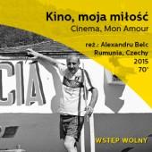 Plakat promujący pokaz filmu