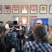 Zdjęcie z konferencji prasowej
