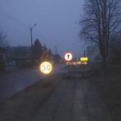 Widok ul. Targowej - fot. Starostwo Powiatowe w Zgierzu
