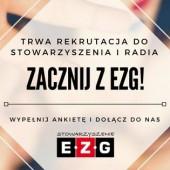 Logo rekrutacji do Stowarzyszenia EZG