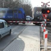 Przejazd kolejowy na ul. Chełmskiej - fot. Starostwo Powiatowe w Zgierzu