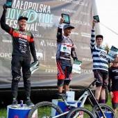 Artur Miśkiewicz na 1 miejscu podium