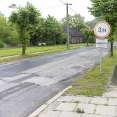 ul. Łąkowa - stan z maja 2019 r.