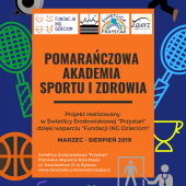 Plakat promujący projekt