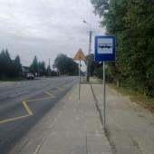 Przystanek autobusowy - fot. MUK Zgierz