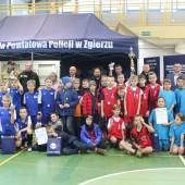 Uczestnicy turnieju - fot. Komenda Powiatowa Policji w Zgierzu