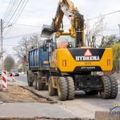 Roboty drogowe na ul. Rembielińskiego