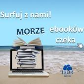 Plakat promujący ebooki