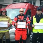 Strażak, ratownik medyczny, policjant