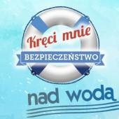 """Logo akcji """"Kręci mnie bezpieczeństwo nad wodą"""""""
