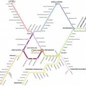 Mapa połączeń ŁKA