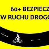 Baner akcji 60+ bezpieczni w ruchu drogowym
