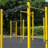 Street Workout w Parku Miejskim im. T. Kościuszki w Zgierzu