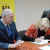 Podpisanie porozumienia o współpracy w dniu 18.01.2019 r. - fot. Starostwo Powiatowe w Zgierzu