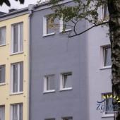 Widok budynku mieszkalnego - stan inwestycji na dzień 6.09.2017 r.