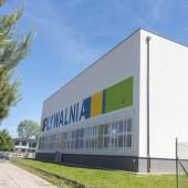 Budynek pływalni przy ul. Leśmiana 1 - maj 2019 r.