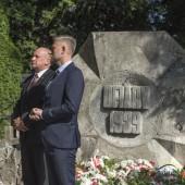 Uroczystości przy grobach Żołnierzy Września 1939 roku
