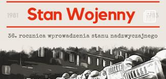 Plakat z programem uroczystości