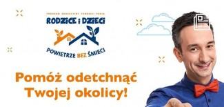 Plakat promujący akcję