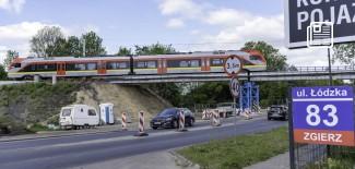 Wiadukt kolejowy przy ul. Łódzkiej - 18.05.2020 r.