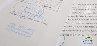 Podpisana umowa