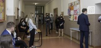 Tegoroczni maturzyści w SLO im. Romualda Traugutta w Zgierzu