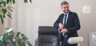 Przemysław Staniszewski - Prezydent Miasta Zgierza w gabinecie