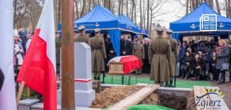 Uroczystości pogrzebowe w Lesie Lućmierskim
