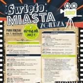 Plakat promujący Święto Miasta Zgierza 2017