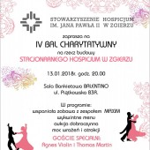 Plakat promujący bal