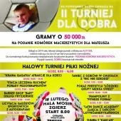 Plakat z programem wydarzenia