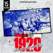 Plakat promujący obchody 98. rocznicy Bitwy Warszawskiej