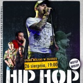 Plakat promujący koncert Hip-Hop