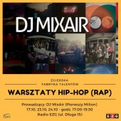 Warsztaty hip-hop (rap)