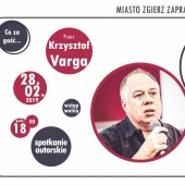 Spotkanie z Krzysztofem Vargą