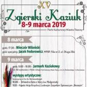 Plakat z programem Zgierskiego Kaziuka