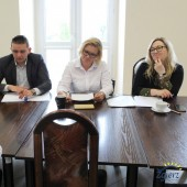 Jury konkursu podczas przesłuchań