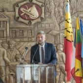 Przemawia Przemysław Staniszewski - Prezydent Miasta Zgierza