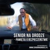 Senior na drodze - pamiętaj o bezpieczeństwie