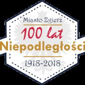 Logo Miasto Zgierz 100 lat Niepodległości