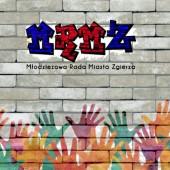 Baner Młodzieżowej Rady Miasta Zgierza