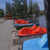 Rowery wodne w Parku Miejskim - fot. MOSiR Zgierz