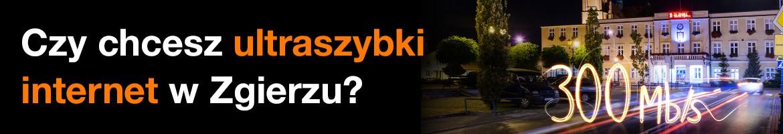 Wyraź opinię na temat budowy sieci światłowodowej przez firmę Orange w Zgierzu