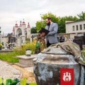 Uroczystości na Starym Cmentarzu w Zgierzu