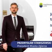 Przemysław Staniszewski (Prezydent Miasta Zgierza) zaprasza do spisu powszechnego