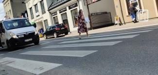 Przejście dla pieszych na ul. Długiej